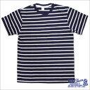 【Velva Sheen ベルバシーン】UNEAVEN BORDER TEE ポケット付 (161560u) アンイーブンボーダーTEE W/PK