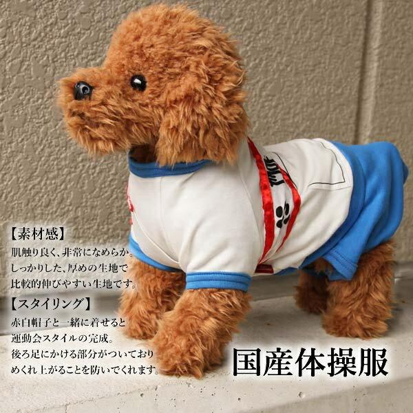 犬 服 コスプレ【国産 体操服】小型犬 中型犬...の紹介画像3