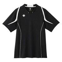【メール便OK】DESCENTE(デサント) DSS-5520 半袖 ライト ゲームシャツ バレーボール BWHの画像