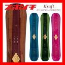 15-16 KRAFT(クラフト)/OREGON スノーボード 板 木目 ウッド