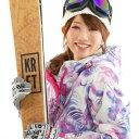 【スポイチ】【防水スプレープレゼント】スキーウェア レディー...
