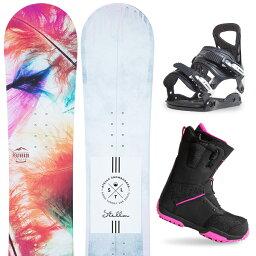 【500円クーポン】【バイン取付無料】【デッキパッドプレゼント】スノーボード 3点セット 板 レディースFEATHER AQUARIUS 板 スノーボード スノボ スノボー グラトリ 3点snowboard ツヤ消し マットコーティング