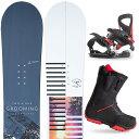 【500円クーポン】【取付無料】スノーボード 3点セット 板 メンズ レディースGROOMIG AARON 板 スノーボード スノボ スノボー グラトリ 3点snowboard ツヤ消し マットコーティング