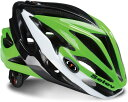 自転車 ヘルメット SELEV セレーブ セレブ ブリッツ BLI113 グリーン/ホワイト/ブラック ヘルメット