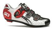 シディー ジェニウス 5 フィット カーボン (ホワイト/ブラック/レッド) SIDI 自転車 ロード【P19Jul15】【送料無料】【02P29Jul16】