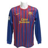 【SALE】【NIKE】ナイキ 11-12バルセロナ L/S ホームゲームシャツ