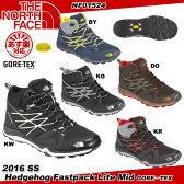 【あす楽】【送料無料】 THE NORTH FACE ザ・ノースフェイス Hedgehog Fastpack Lite Mid GORE-TEX ヘッジホッグ ファストパック ライト ミッド ゴアテックス NF01524