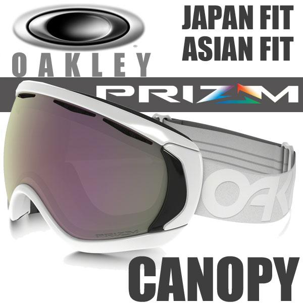 OAKLEY SNOW GOGGLE PRIZM CANOPY OO7081-04 (オークリー スノーゴーグル キャノピー プリズム HI ピンク イリジウム / ファクトリーパイロット ホワイトアウト アジアンフィット / ジャパンフィット )