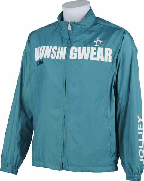 【Munsingwear】 メンズ ゴルフウェア SG6336 フルジップ ブルゾン / ジャケット / ウィンドブレーカー E478 エメラルド (マンシングウェア ゴルフ) 【15fwcz】 お買得!ゴルフウェア メンズ