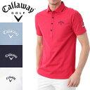 CALLAWAY APPAREL 鹿の子 ショートワイドカラー 半袖シャツ 7157510 キャロウ...