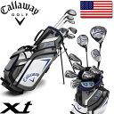 Callaway ゴルフ ティーン ジュニア セット XT (クラブ10本 スタンドキャディバッグ ヘッドカバー) キャロウェイゴルフ USA