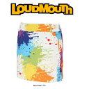 【全商品ポイント5倍/10月27日10:00〜10月30日9:59】ラウドマウス レディス スコート 726-206 001/DROP CLOTH Lサイズ 2016年春夏モデル Loudmouth