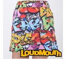 ラウドマウス レディス スコート 726-206 029/TAGS Mサイズ 2016年春夏モデル Loudmouth