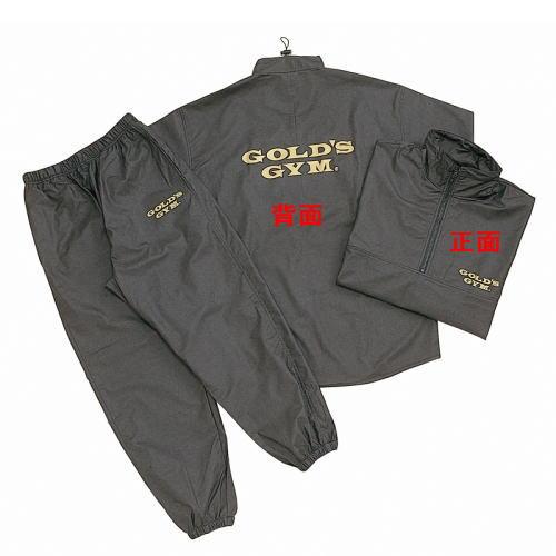 GOLDS GYM ゴールドジム サウナスーツ G5710 ブラック XXL