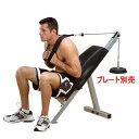 パワーライン POWERLINE by Body Solid ボディソリッド ソリッドアブ GAB-21 腹筋 筋トレマシン