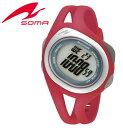 【10%OFF】ランワン SMALL DigitalSOMA ソーマ ランニングウォッチ RunONE スモール デジタル DYK50-0003 レッド