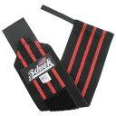Schiek シーク リストラップ 24インチ ブラック フリーウェイトトレーニング用