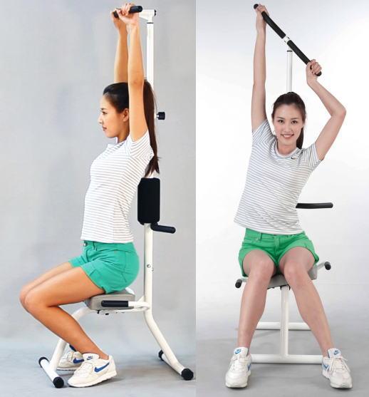 purefit ピュアフィット スッキリ伸ばし健康器 PF-5000 【送料無料】肩・腰・背筋を伸ばして健康生活 トレーニングDVD付き