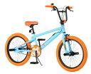 Raychell+ レイチェルプラス 20インチBMXバイク自転車 RX+02 ブルー