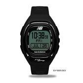 new balance ニューバランス GPSスポーツランニングウォッチ ブラック EX2-906-003<店頭在庫限り>
