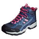 TrekSta トレクスタ FP-0401MID GTXライト EBK166 トレッキングシューズ登山靴 レディース ネイビー/ピンク<在庫僅少>