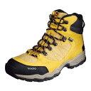 【送料無料】ゴアテックス やや浅めのハイカットブーツ 中級登山にも対応TrekSta トレクスタ FP-0504 HI GTXライト EBK167 トレッキングシューズ 登山靴 メンズ イエロー