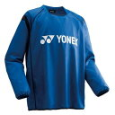 YONEX ヨネックス サッカー・フットサル UNI ピステトップシャツ長袖 ユニセックス FW5004 ブルー