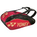 【送料無料】YONEX テニスラケットバッグ6本用収納可能 BAG1602R