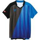 VICTAS ヴィクタス 卓球ウエア ユニセックス ゲームシャツ V‐GS053 031466 0120 BL ブルー
