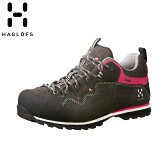 HAGLOFS VERTIGO II Q GT (MAGNETITE) WOMEN ホグロフス ヴァーティゴ トレイル ランニング シューズ 靴 スニーカー アウトドア 登山 トレッキング (492070)