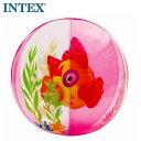 INTEX アクアリウムビーチボール(魚) ピンク 61cm インテックス U-5069 58031NP