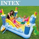 プレゼントキャンペーン実施中! INTEX ファンタジーキャッスルプレイセンター 185cm×152cm×107cm インテックス U-5711