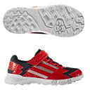 adidas(アディダス)ジュニア ベルクロ ランニング シューズ JR ADSファイト EL K