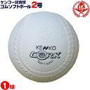 ナガセケンコー ソフトボール ボール 2号 ゴムボール 小学生用 試合球 1球 kenko-2