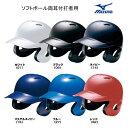 ヘルメット ソフトボール 両耳 打者用 1DJHS101 ミズノ MIZUNO