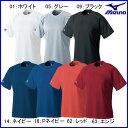 ミズノ 野球 ソフトボール ベースボールシャツ 丸首 【お取寄せ品】 52LB138●16