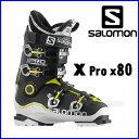 【あす楽対応可】◎2016サロモン スキーブーツ X PRO X80 White/Black/Acidegreen スキー靴 【即納OK】 SALOMON エックスプロ L37980100..