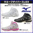 ミズノ エアロビクス用 フィットネスシューズ ウエーブダイバース LG3(フィットネス) 【