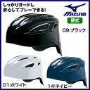 ミズノ 野球 硬式用ヘルメット(キャッチャー用/野球)【お取寄せ品 】1DJHC101  ●17