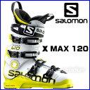 【あす楽対応可】☆サロモン スキーブーツ X MAX 120 white/acide green スキー靴【即納OK】 SALOMON エックスマックス L36...