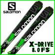 【あす楽対応可】☆サロモン ロッカースキー X-DRIVE 8.0 FS + XT12 板+ビンディング 2点セット 161cm 168cm 175cm 【即納OK】SALOMON L36855100 ●15
