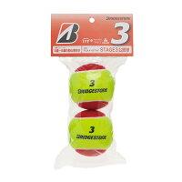 BridgeStone(ブリヂストン)テニスボールPLAY+STAY STAGE3 ノンプレッシャーボール BBAPS3BBAPS3の画像