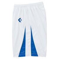 CONVERSE(コンバース)バスケットゲームシャツ・パンツゲームパンツCB251801ホワイト/Rブルーの画像