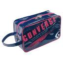 CONVERSE(コンバース)マルチSPケースシューズケースC1508097ネイビー/ピンク