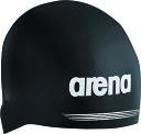 ARENA(アリーナ)水泳水球競技帽子【男女兼用 スイムキャップ】 シリコンキャップARN7400ブラック