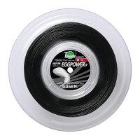 GOSEN(ゴーセン)テニスガット・ラバーエッグパワー17ロール ブラックTS1012BKの画像