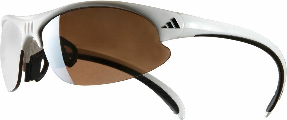 adidas(アディダス)ゴルフゴーグル・サングラスアディダスサングラス A124 ホワイトブラック(ゴルフ)A124016076 adidas(アディダス) ゴルフ ゴーグル・サングラス