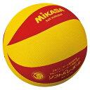 ミカサ(MIKASA)バレーボールソフトバレー 黄/赤MSM78YR