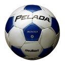モルテン(Molten)サッカーボールペレーダ3000 4号球 シャンパンシルバー×メタリックブルーF4P3000WB
