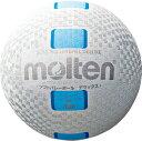 モルテン(Molten)バレーボールソフトバレーボールデラックス 白シアンS3Y1500WC